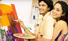 $59 for a BYOB Couples Painting Workshop at Art School # 99 ($120 Value)