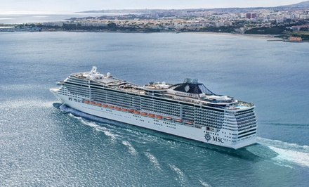 2- or 4-Night Bahamas Cruise from MSC Cruises. Price/Person Based on Double Occupancy.