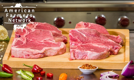 Grass-Fed Organic Steak Samplers with Free Shipping from American Farmers Network (Up to 64% Off)
