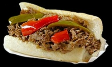 $25 for $50 Worth of Italian Beef and Pizza or $42 for Three Medium Pizzas and Salad at Al's Beef &amp; Nancy's Pizza