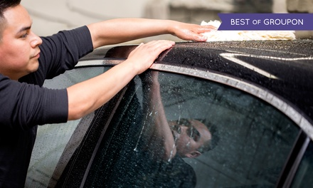 Three Basic Car Washes for a Car or Small Truck, or Large Truck or SUV at H2O Hand Car Wash (Up to 41% Off)