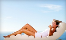 One or Three Custom Airbrush Tans or Three UV Tanning Sessions at Sunsets Tanning (Up to 71% Off)