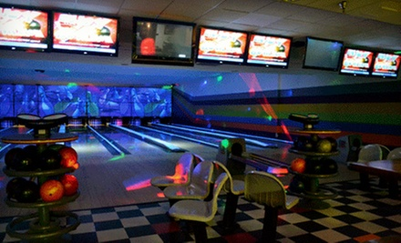 $15 for a Bowling Package for Up to Four with Shoe Rental and Soda or Beer at Papa Luigis II (Up to $52 Value)