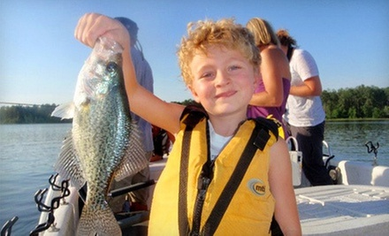 $120 for a 2.5-Hour Family Fishing Trip for Four from Greggofish Guide Service ($300 Value)