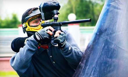 All-Day Paintball with Equipment Rental and Ammo for 1 or 10 at Planet Paintball & Airsoft Adventures (Up to 60% Off)