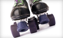 5- or 10-Admisison Punch Card, or Roller-Skating Package for Four at The Nampa Rollerdrome (Up to 57% Off)