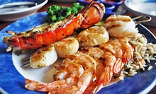 $15 for $30 Worth of Seafood, Steak, and Sushi at Alligator Grille