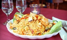 Peruvian Cuisine at Piolin Restaurant II (Half Off). Two Options Available.