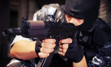 All-Day Paintball Package for Two or Four with Gear, Air, and 100 Paintballs Per Person at NVP Paintball (Half Off)