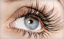 Individual Lash Full Set of Semi-permanent Eyelash Extensions at Salon Von De Beauty Bar ($250 Value)