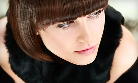 Haircut and Deep-Conditioning Treatment with Optional Partial Highlights at Mi Amor Studio (Up to 65% Off)