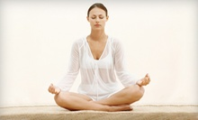 Five Yoga Classes or One Month of Unlimited Yoga Classes at Yoga Inspired (Up to 71% Off)
