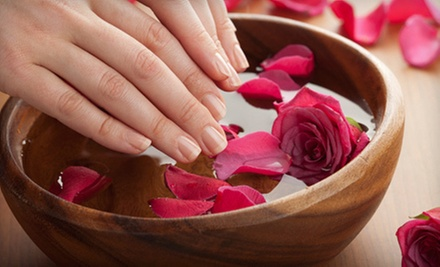 One or Two Spa Mani-Pedis with Reflexology, Hot-Rock, and Paraffin Treatments at Lo-Ann Nails (Up to 60% Off)