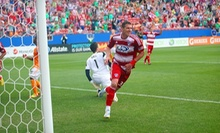FC Dallas Youth Soccer Clinic with On-Field Experience and Tickets for One or Two on June 22 or July 13 (Up to 62% Off)