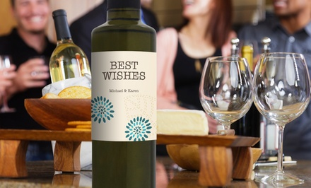 Olive Oil with Custom Labels from My Olive Press (Up to 55% Off). Two Options Available.