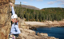 Half-Day Rock-Climbing Trip for Two or Four from Acadia Mountain Guides Climbing School (Up to 45% Off)