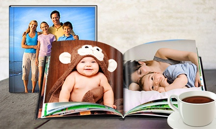 Custom 26-Page Padded Hardcover Photo Book from Printerpix (Up to 80% Off). Three Options Available.