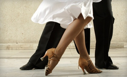 Six Group Dance Lessons, Three Private Dance Lessons, or Wedding Dance Package at Dance Scene (Up to 67% Off)