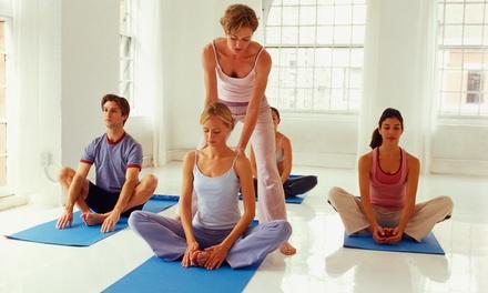 Four Weeks of Hot Yoga Classes at Cloud9 Divine Healing Center Santa Fe (66% Off)