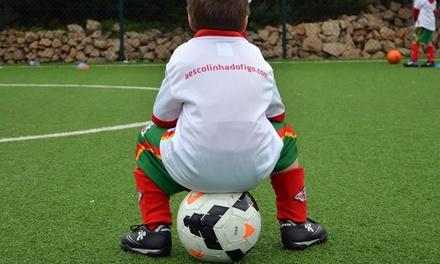 A Escolinha do Figo — 4 localizações: frequência de 3 meses de treinos de futebol com inscrição e seguro por 59,90€