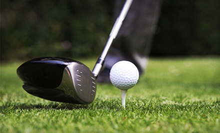 $50 for Round of Golf for Two with Cart and Range Balls at Jimmy Clay or Roy Kizer Golf Courses (Up to $104 Value)