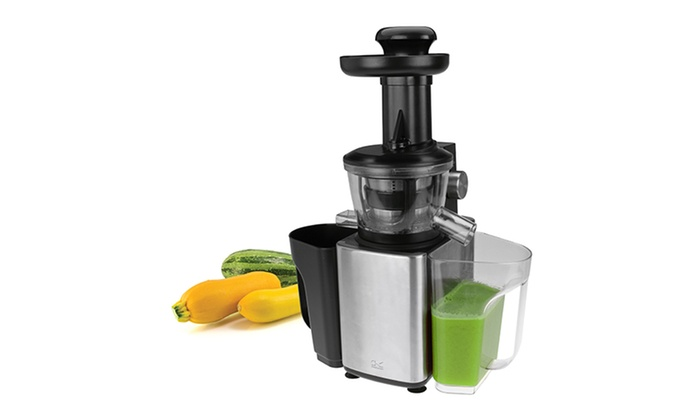 Stainless Steel Fruit and vegetable Slow Juicer Groupon