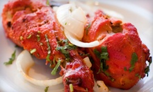 Lunch or Dinner at Taj Indian Cuisine (Half Off). Three Options Available.