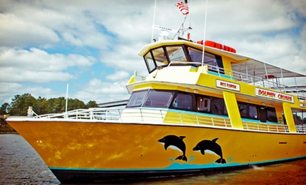 Dolphin-Watching Cruise from Sunny Lady Dolphin Cruise at The Wharf (Up to 55% Off). Three Options Available.