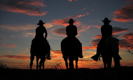 1-Night Stay with Horseback Riding and Meals for One or Two at Stagecoach Trails Guest Ranch in Yucca, AZ
