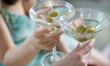 $14 for Two Specialty Martinis and a Shared Appetizer at indiglo Restaurant & Lounge (Up to $31.95 Value)