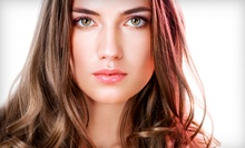 Haircut Package with Brow Wax and Optional Partial or Full Highlights or Color at Bangz Salon (Up to 61% Off)