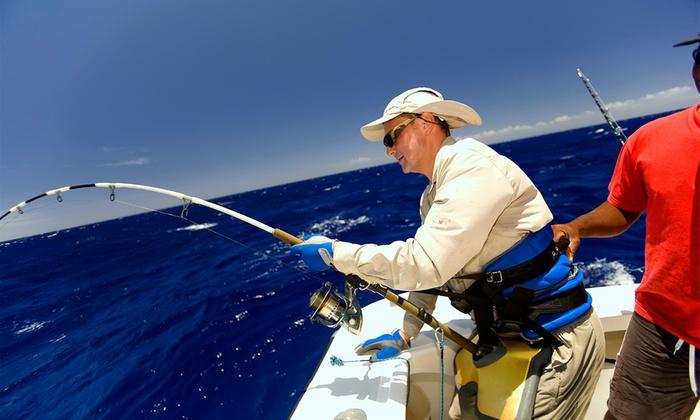 Catamaran — Gaia: batismo de pesca em alto-mar para uma, duas, quatro ou dez pessoas desde 89€