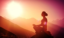 $75 for a One-Month Membership with Unlimited Meditation Classes at Maum Meditation ($150 Value)