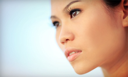 Eyelash Extensions with Optional Fill at Face Enhancements (Up to 70% Off)