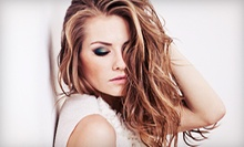 Haircut and Deep Conditioning with Optional Color or Partial or Full Highlights at Hair By Rachel (Up to 55% Off)