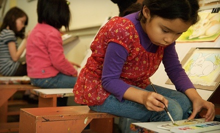 Four Weekly Art Classes for Kids or Adults at KidsArt (Up to 56% Off)