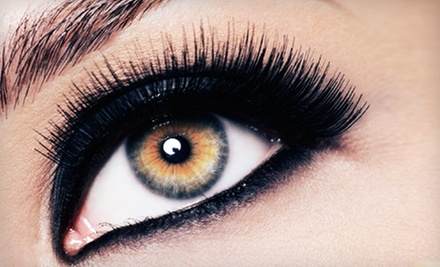 One or Two Individual Eyelash-Extension Treatments, or Eyelash or Eyebrow Tinting at Vintage Lash Studio (Up to 51% Off)