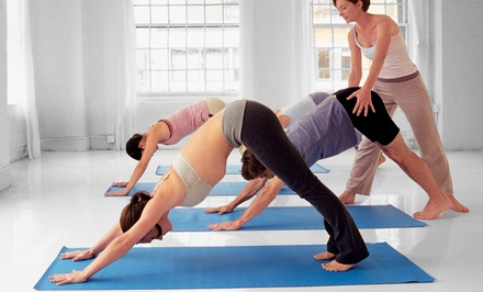 $40.25 for One Month of Unlimited Yoga Classes at Yoga at Tiffany's Oklahoma City ($100 Value)