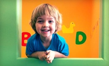 5 or 10 Open-Play Outings at Kids Club Party and Fun (Up to 51% Off)