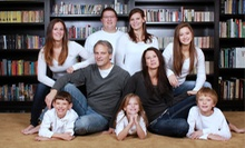 $49 for On-Location Photo Shoot for Up to 5 with Album Access & Digital Images from Miss Joni's Photography ($195 Value)