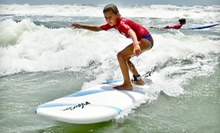 90-Minute Youth Surfing Class or One Day of Youth Surf Camp from Padre Island Surf Club (Up to 57% Off)