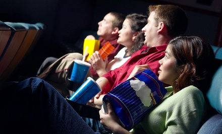 1, 5, or 10 Movie Tickets with Popcorn at Spotlight Theaters Front Street (50% Off)