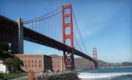 San Francisco Minibus Tour for One, Two, or Four Adults from City By The Bay Tours for San Francisco (Up to 60% Off)