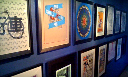 Custom Framing at Borealis Arts (Up to 57% Off). Two Options Available.