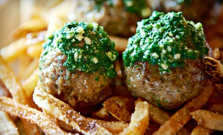 Meatballs and Comfort Food for Lunch or Dinner at Meatballs on Main (Half Off)