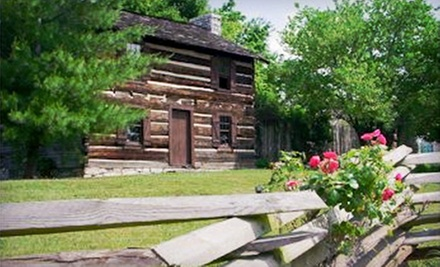 Individual or Family Membership to James White&#x27;s Fort (Up to 60% Off)