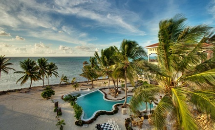 groupon daily deal - 3-, 5-, or 7-Night Stay in the Lanai or Veranda Room at La Beliza Belize Island Resort in Ambergris Caye, Belize