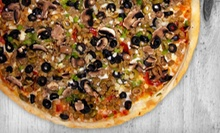Cajun Pizza for Takeout or Dining In at Cajun Pizza Place (Up to Half Off)