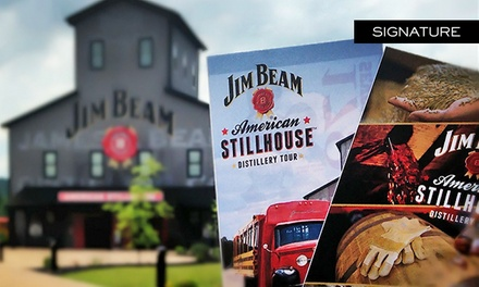 Guided Distillery Tour for Two, Four, or Up to Ten People at Jim Beam American Stillhouse (Up to 45% Off)