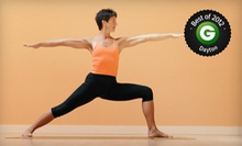 5 or 10 Classes or One Month of Unlimited Classes at Hot Yoga and Wellness Center (Up to 68% Off)